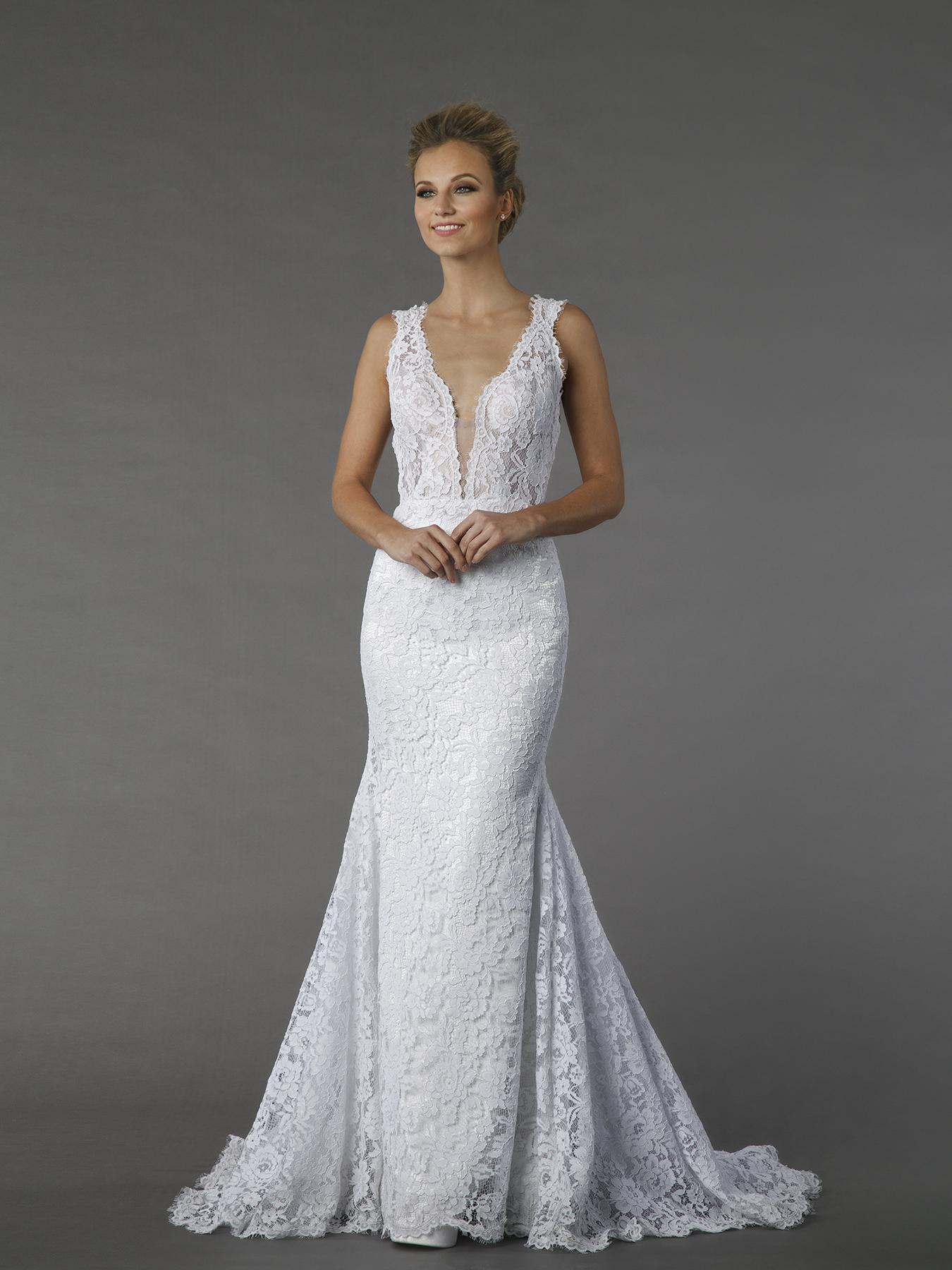Sheath Wedding Dress Kleinfeld Bridal