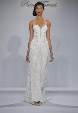 Sheath Wedding Dress by Pnina Tornai - Image 1