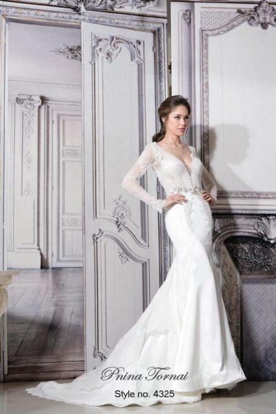 Sheath Wedding Dress By Pnina Tornai Image 1