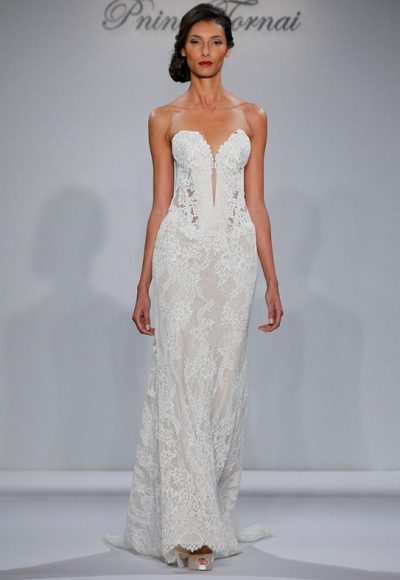 Sheath Wedding Dress by Pnina Tornai