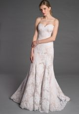 Simple Fit And Flare Wedding Dress by Pnina Tornai - Image 1