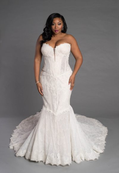 Simple Sheath Wedding Dress by Pnina Tornai