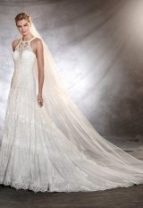 A-Line Wedding Dress by Pronovias - Image 1