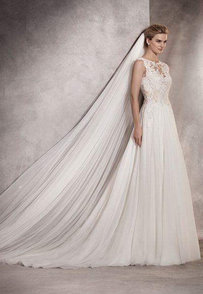 A-Line Wedding Dress by Pronovias