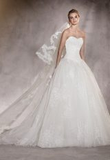 Ball Gown Wedding Dress by Pronovias - Image 1