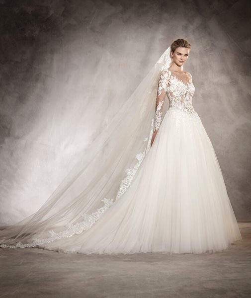 Ball Gown Wedding Dress By Ovias Image 1