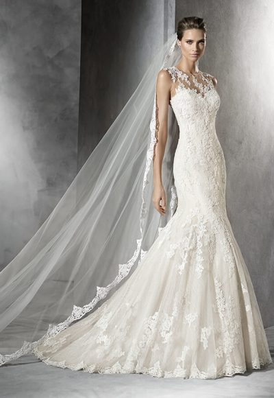 Mermaid Wedding Dress by Pronovias