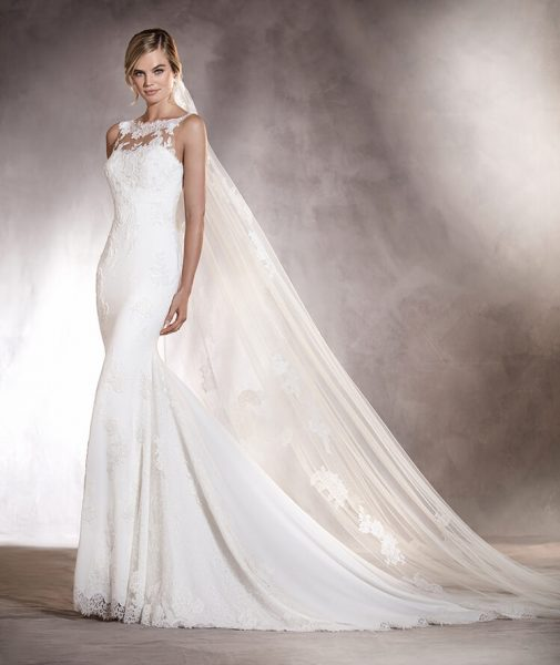 Fit And Flare Wedding Dress By Ovias Image 1