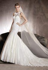 Mermaid Wedding Dress by Pronovias - Image 1