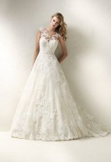 Romantic Ball Gown Wedding Dress by Pronovias - Image 1