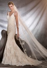 Romantic Fit And Flare Wedding Dress by Pronovias - Image 1
