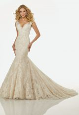 Classic Mermaid Wedding Dress by Randy Fenoli - Image 1