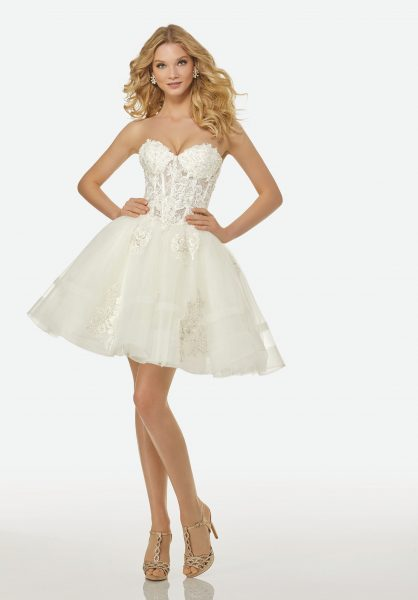 Couture Ball Gown Wedding Dress by Randy Fenoli - Image 2