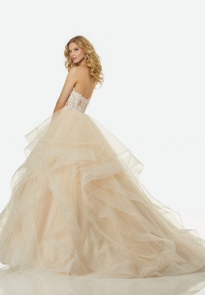 Modern Ball Gown Wedding Dress by Randy Fenoli - Image 2