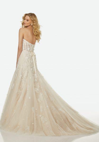 Romantic A-line Wedding Dress by Randy Fenoli - Image 2