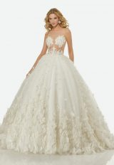 Romantic Ball Gown Wedding Dress by Randy Fenoli - Image 1