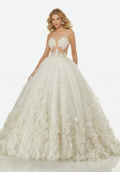 Ball Gown Wedding Dress By Randy Fenoli Image 1