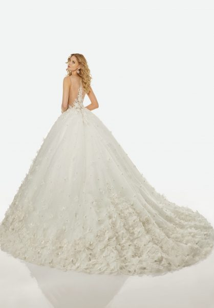 Romantic Ball Gown Wedding Dress by Randy Fenoli - Image 2