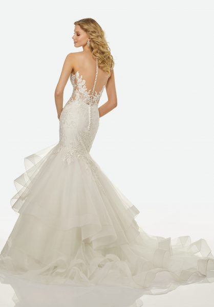 Romantic Mermaid Wedding Dress by Randy Fenoli - Image 2