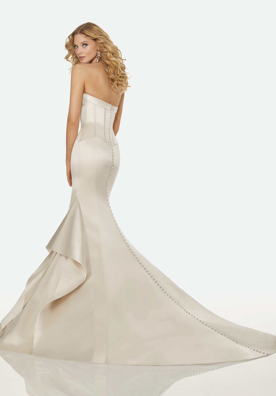 Fein Simple Mermaid Wedding Dresses Zeitgenössisch - Brautkleider ...