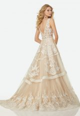 Trendy A-line Wedding Dress by Randy Fenoli - Image 2