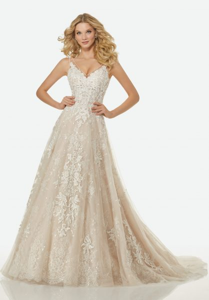 Trendy A-line Wedding Dress | Kleinfeld Bridal
