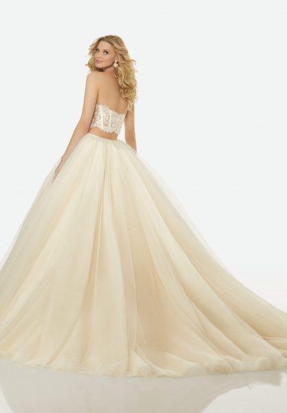 Trendy Ball Gown Wedding Dress by Randy Fenoli - Image 2