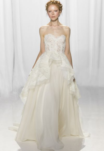 Sexy Ball Gown Wedding Dress by Reem Acra