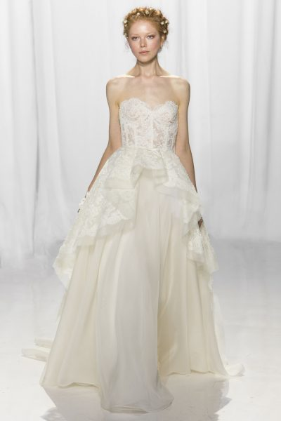 Sexy Ball Gown Wedding Dress by Reem Acra - Image 1