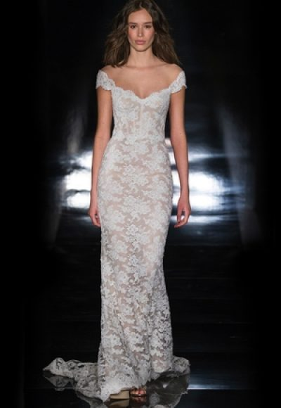 Sheath Wedding Dress by Reem Acra