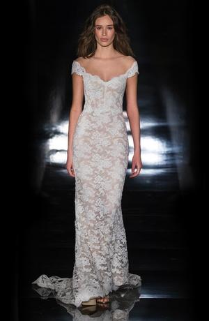 Sheath wedding dress kleinfeld bridal sheath wedding dress by reem acra image 1 junglespirit Gallery