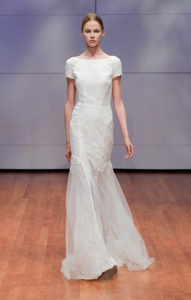 Fit And Flare Wedding Dress by Rivini - Image 1
