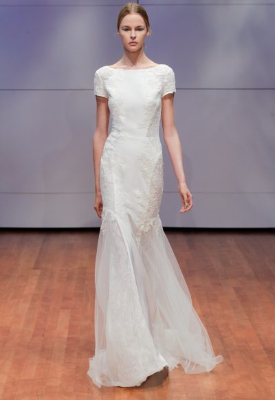 Fit And Flare Wedding Dress by Rivini