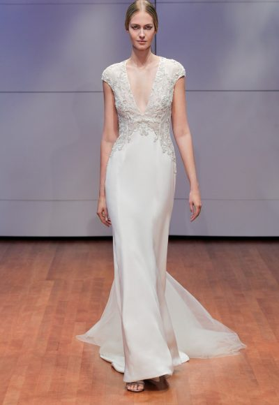 Sheath Wedding Dress by Rivini
