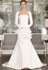 Romona Keveza Collection Sheath Wedding Dress by Romona Keveza - Image 1