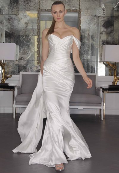 Fit And Flare Wedding Dress by Romona Keveza Collection
