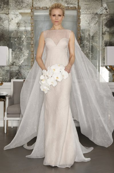 Fit And Flare Wedding Dress by Romona Keveza - Image 1