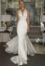 Sheath Wedding Dress by Romona Keveza Collection - Image 1