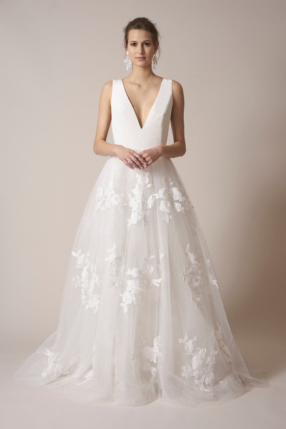 Modern A Line Wedding Dress Kleinfeld Bridal