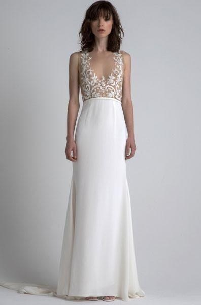 Sexy A-line Wedding Dress by Sachin & Babi - Image 1
