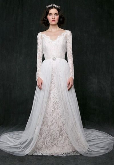 A-Line Wedding Dress by Sareh Nouri
