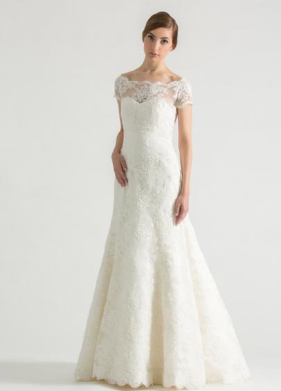 Classic A-line Wedding Dress by Sareh Nouri - Image 1