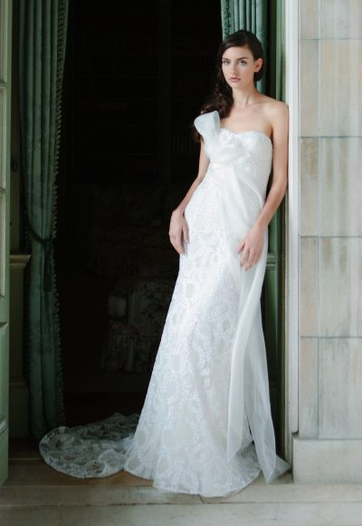Fit And Flare Wedding Dress by Sareh Nouri