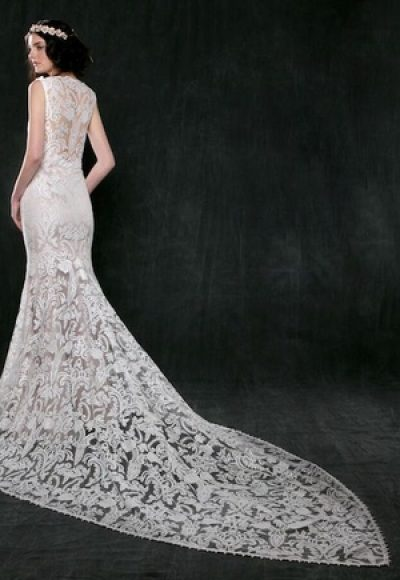 Mermaid Wedding Dress by Sareh Nouri