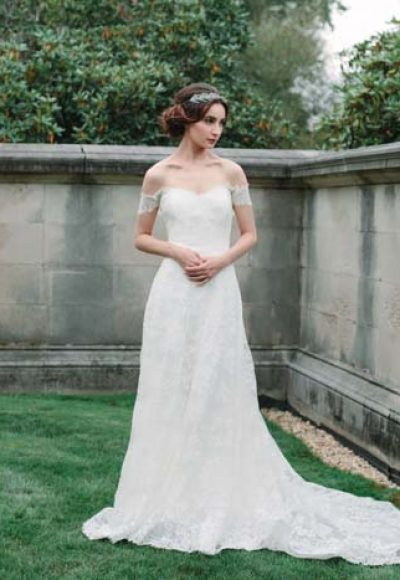 Sheath Wedding Dress by Sareh Nouri