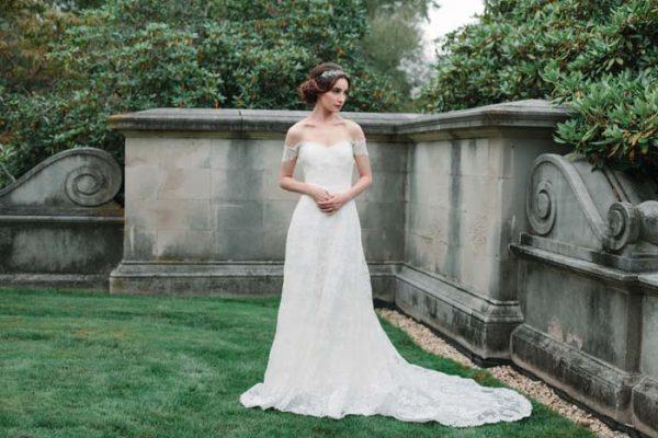 Sheath Wedding Dress by Sareh Nouri - Image 1
