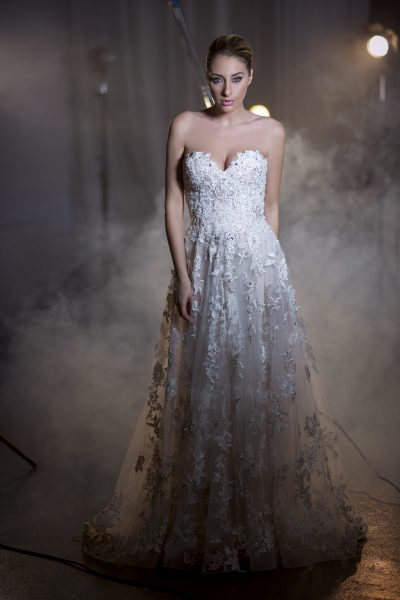 A-Line Wedding Dress by Stephen Yearick - Image 1