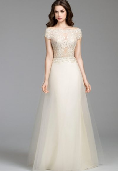 A-Line Wedding Dress by Tara Keely