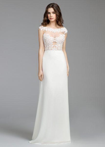 A-Line Wedding Dress by Tara Keely - Image 1