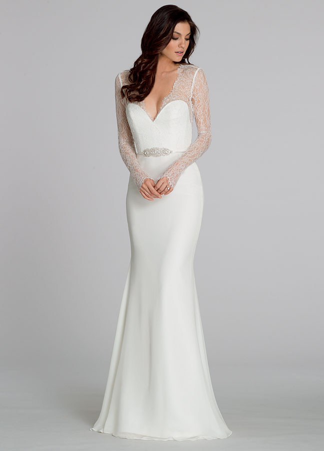Sheath Wedding Dress | Kleinfeld Bridal